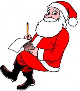 Santa's a writer too