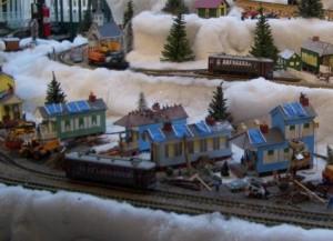 Blue Tarp village
